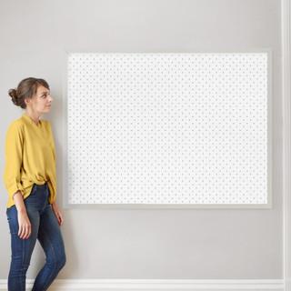 "Minimalist Grid by Erica Krystek: 40"" x 54"" @ $230.00"