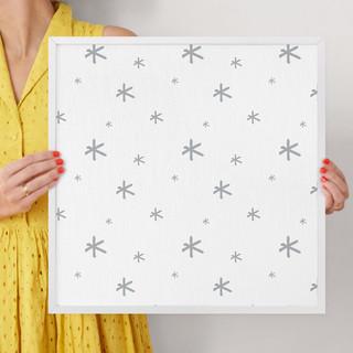 """Seeing Stars by Erica Krystek: 16"""" x 16"""" @ $70.00"""