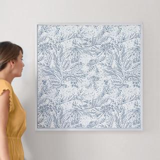 "Classically Elegant by Phrosné Ras: 30"" x 30"" @ $157.00"