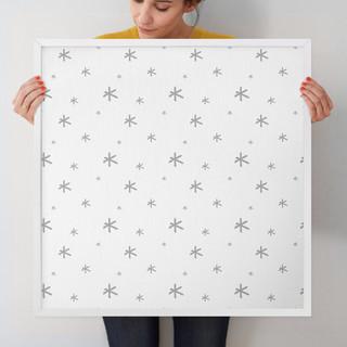 """Seeing Stars by Erica Krystek: 24"""" x 24"""" @ $125.00"""