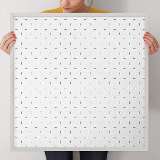 "Minimalist Grid by Erica Krystek: 24"" x 24"" @ $125.00"