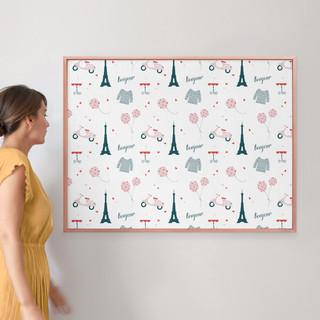 """Oui Oui by Kirstie Kern: 30"""" x 40"""" @ $174.00"""