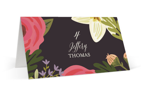Rhapsody Place Cards
