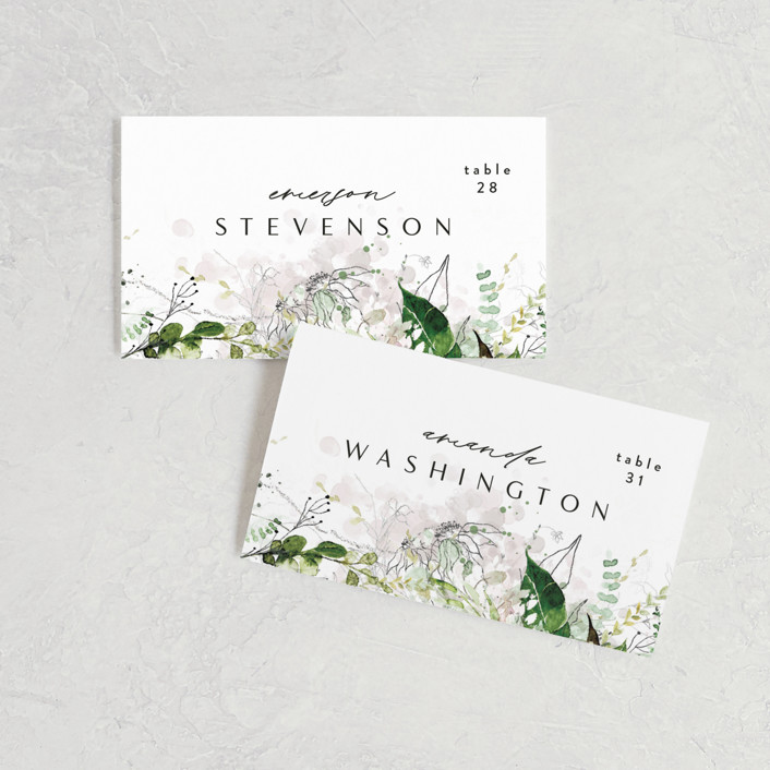 Signs Wedding Custom Colors Paper Decor Special Order Place Cards Favors Menus