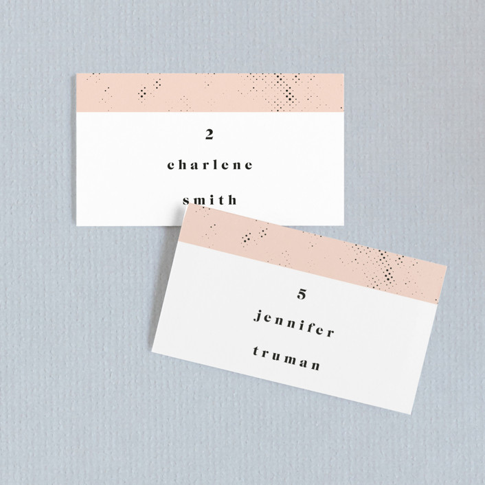 New York Wedding Place Cards by Nazia Hyder   Minted