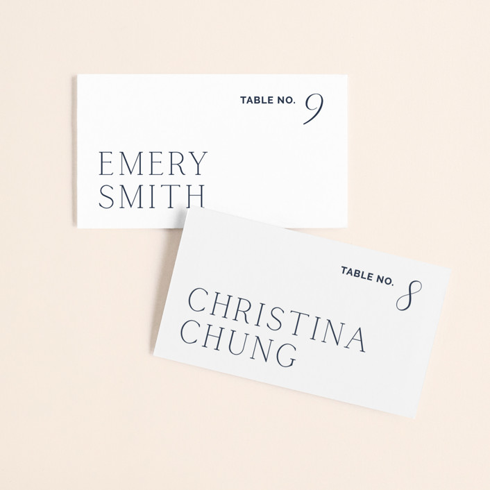 Forever Intertwined Placecards