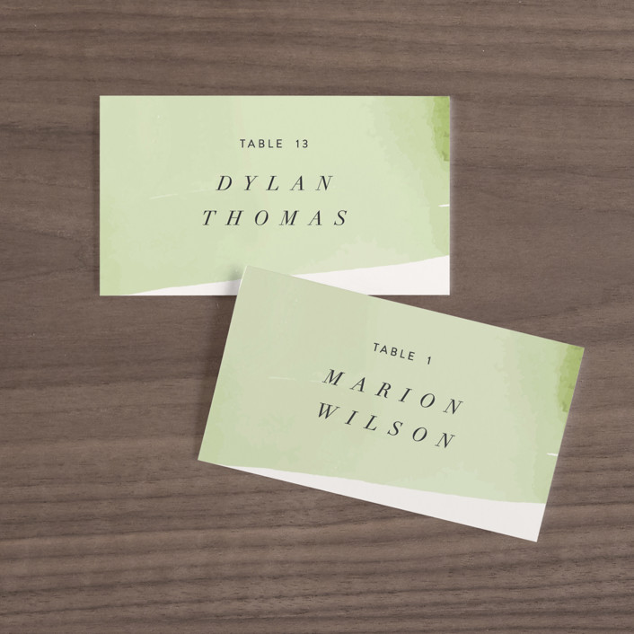 """""""palmetto"""" - Wedding Place Cards in Palmetto by kelli hall."""