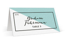 Come Fly with Us Wedding Place Cards