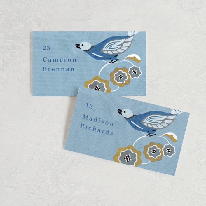 The Love Birds Placecards
