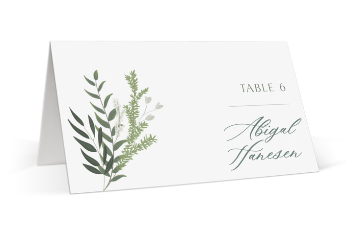 Collection Place Cards
