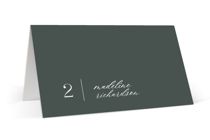 Swanky Place Cards