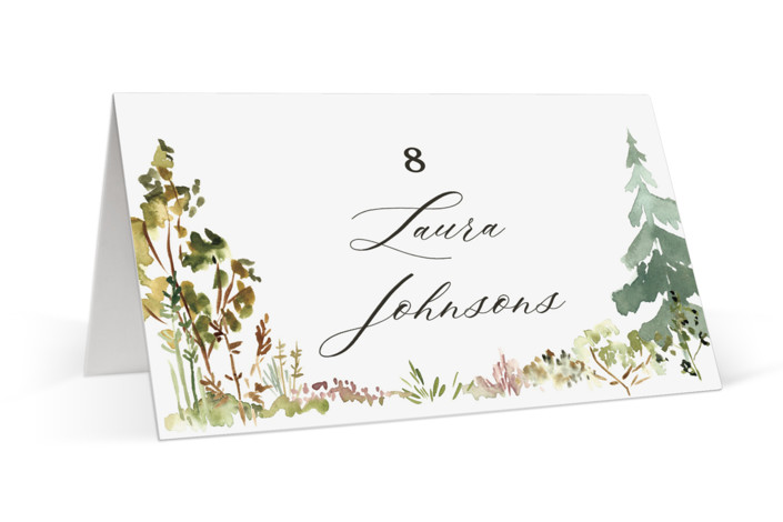 Great Outdoors Place Cards