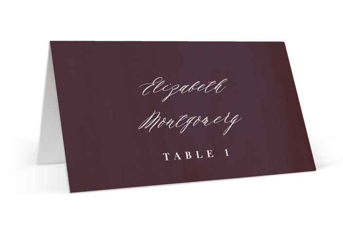 Crush Place Cards