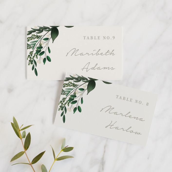 """Watermark"" - Wedding Place Cards in Cypress by Kaydi Bishop."