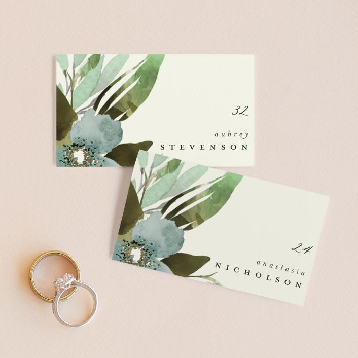 """""""Gardens Edge"""" - Wedding Place Cards in Garden by Grace Kreinbrink."""
