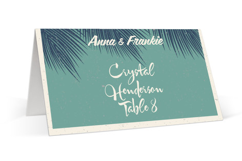 Retro Hawaii Place Cards