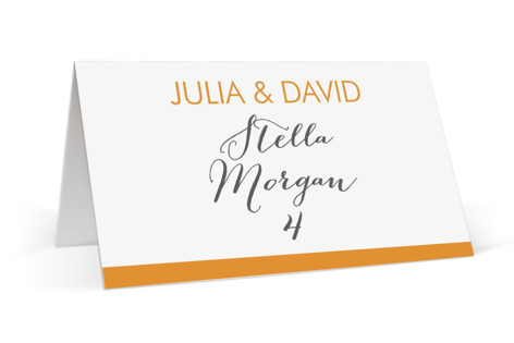 Minimalist Display Place Cards