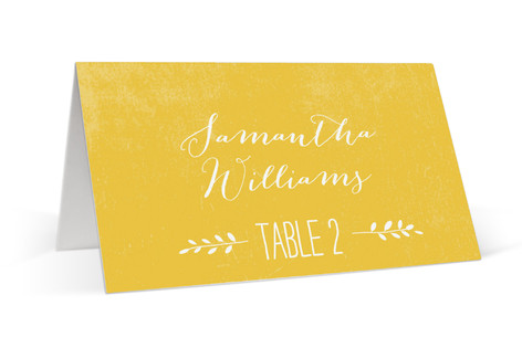 Quite Simply Place Cards