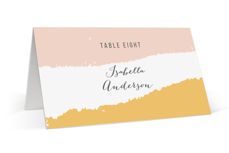 Brush Place Cards