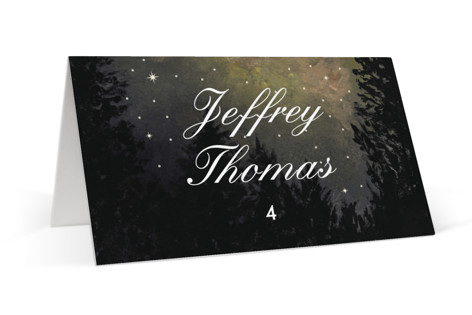 Starry, Starry Night Place Cards