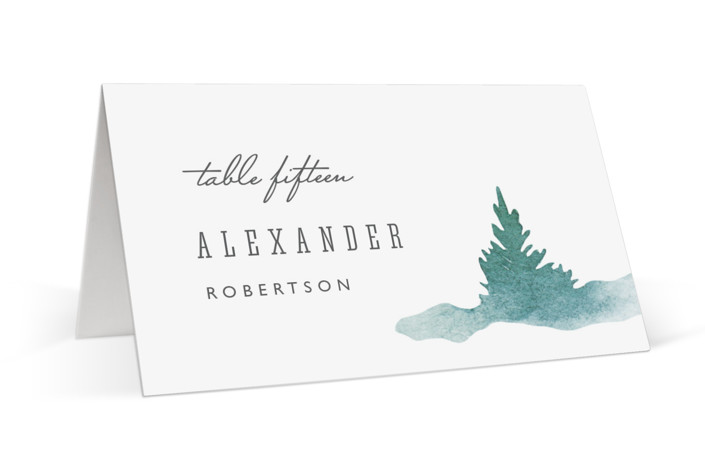 Forest air Place Cards