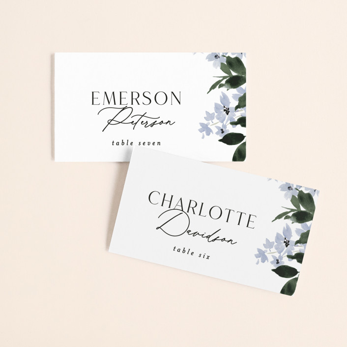 """""""Grove"""" - Wedding Place Cards in Meadow by Everett Paper Goods."""