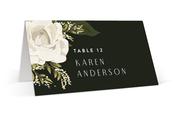 Rose Garden Place Cards