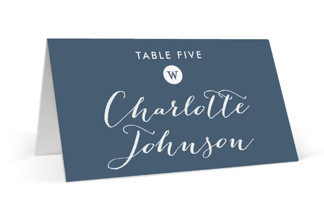 Wedding Stamp Place Cards