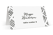 Stable Wedding Place Cards