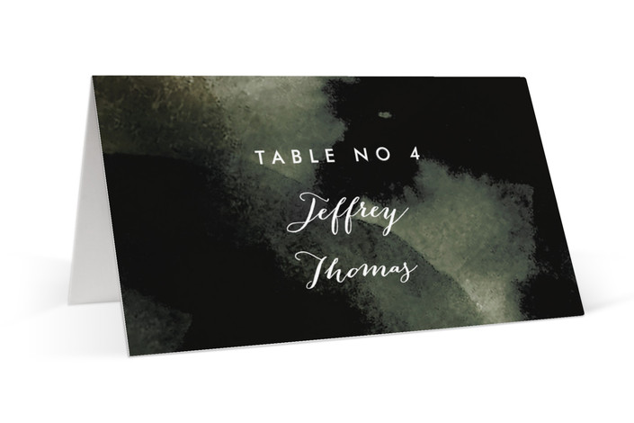 Inked Place Cards