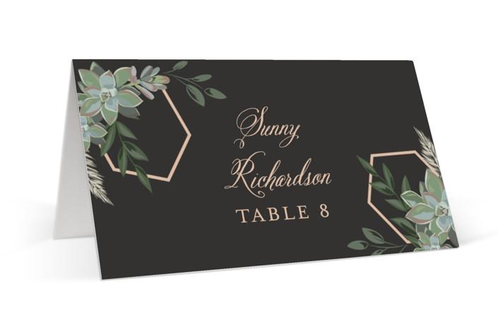 Succulent Surround Place Cards