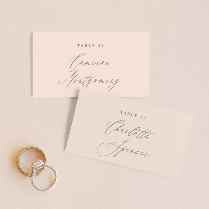 """""""Antoinette"""" - Wedding Place Cards in Ivory by lulu and isabelle."""