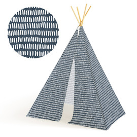 This is a blue play tent by Katie Jarman called Row Your Boat.