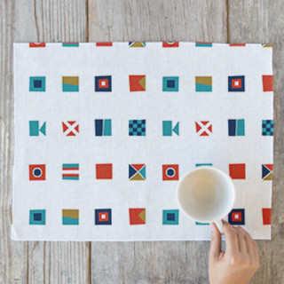 Nautical Flags Placemats