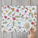 Springtime Floral Placemats