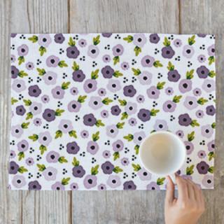 Floral Dots Placemats