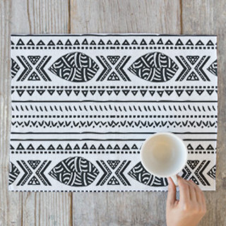 African Tribal Forest Placemats