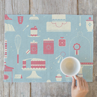 Patisserie Placemats