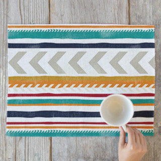 Beach Blanket Stripe Placemats