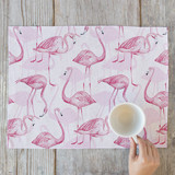 Flamingos! Placemats