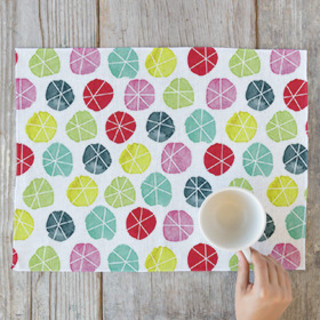 Stars In Circles Placemats
