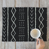 mud cloth tribe Placemats