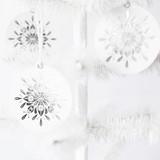 Nordic Noel Silver Foil-Pressed