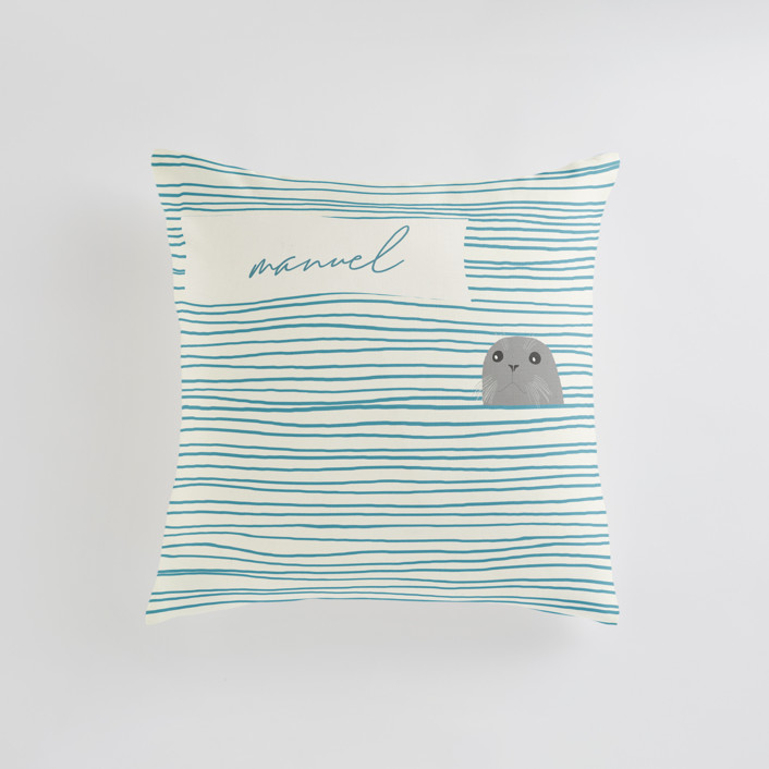 Seal Personalizable Pillows