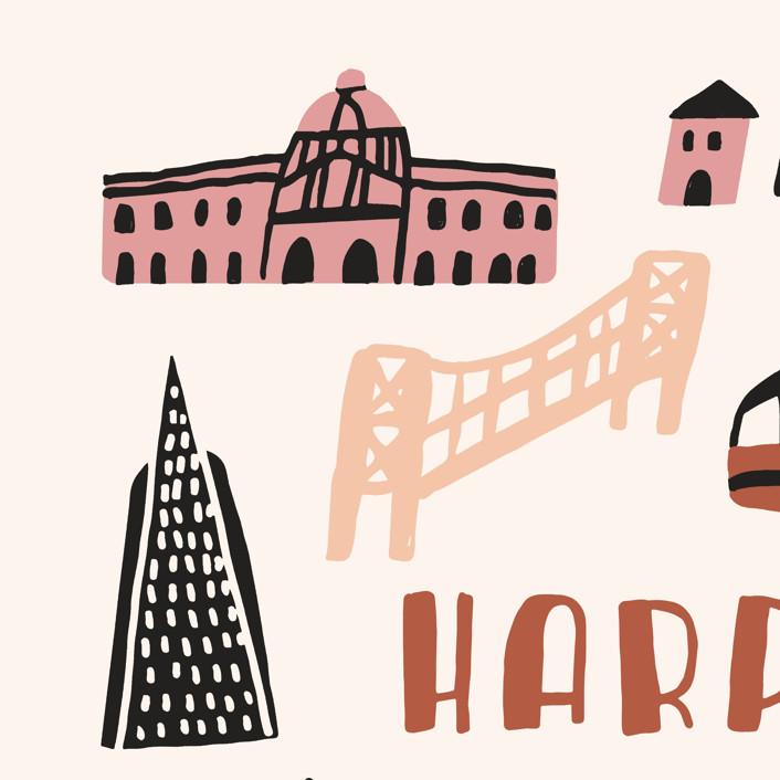 I Love San Francisco Personalizable Pillows