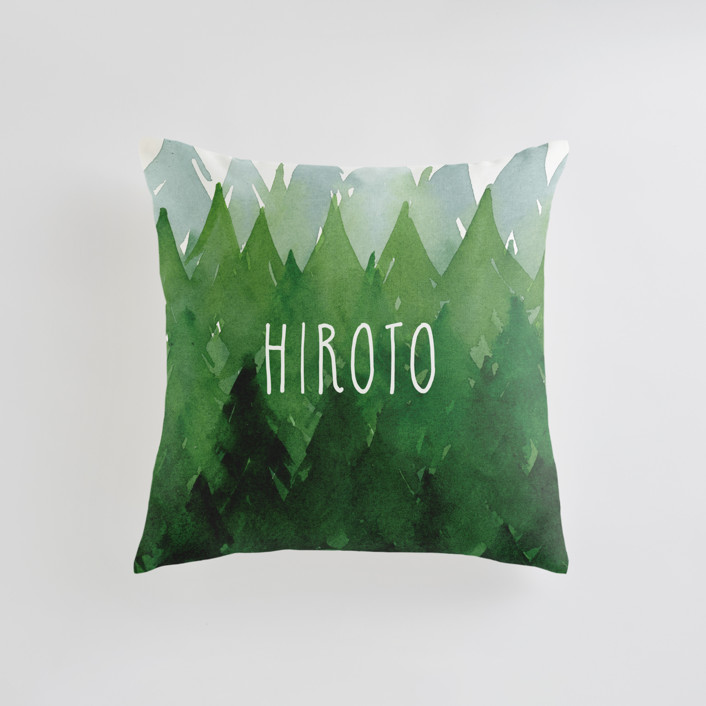 Forest Personalizable Pillows