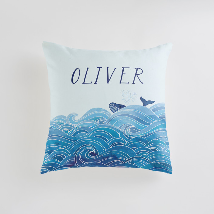 seas the day Personalizable Pillows