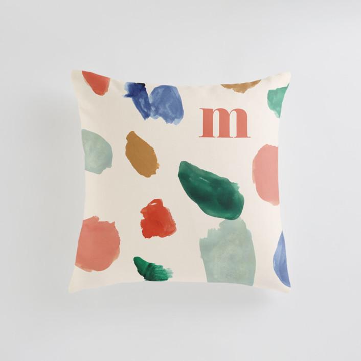 A Painter's Reverie Personalizable Pillows