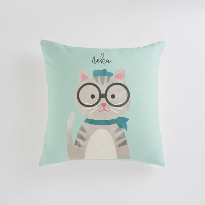 Bonjour Personalizable Pillows