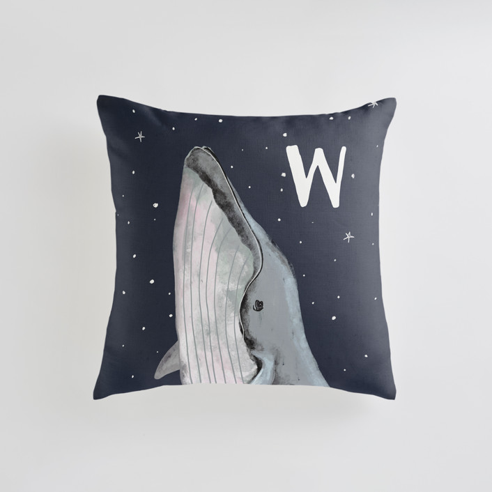 starry sky whale Personalizable Pillows